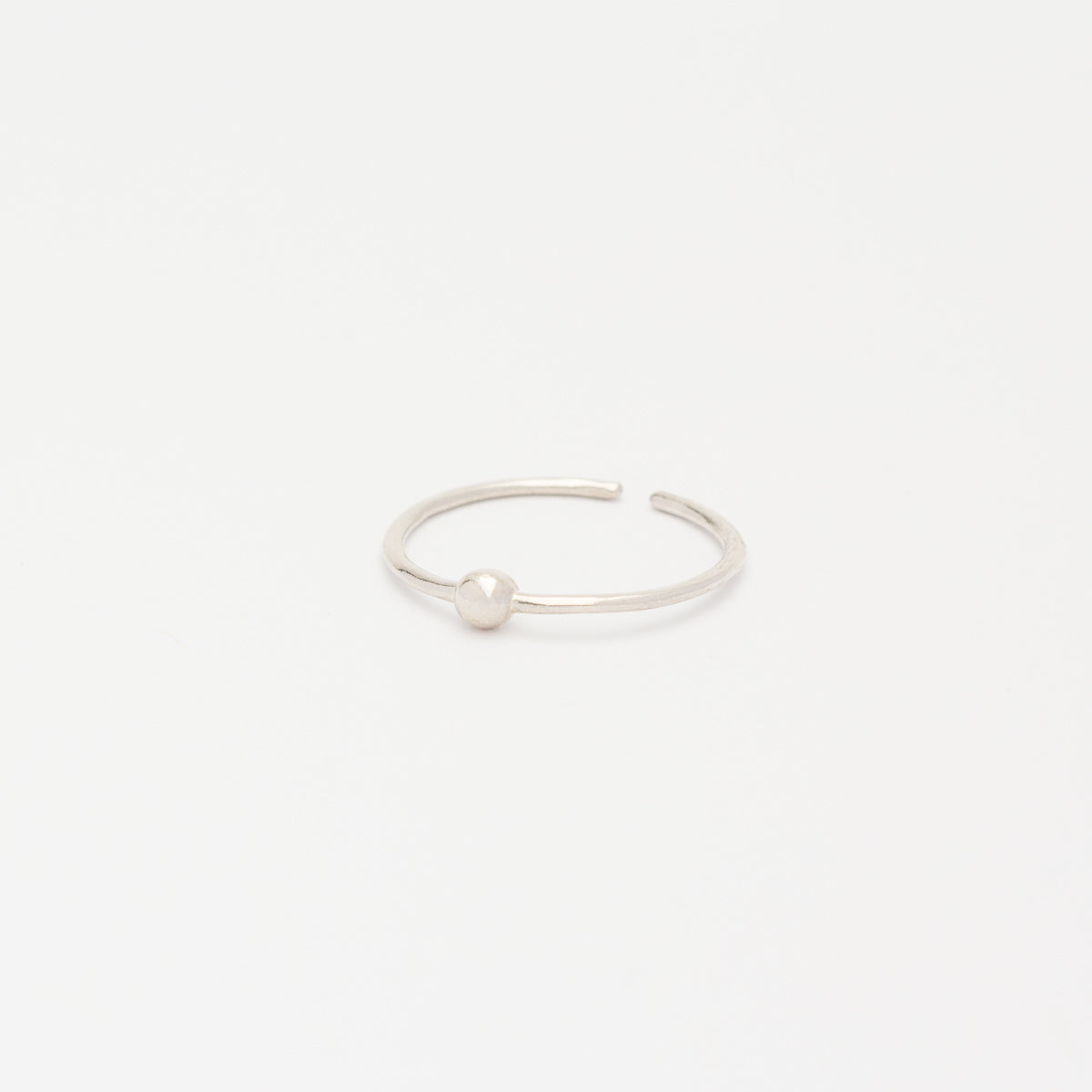 Sterling Silver - Ball Ring