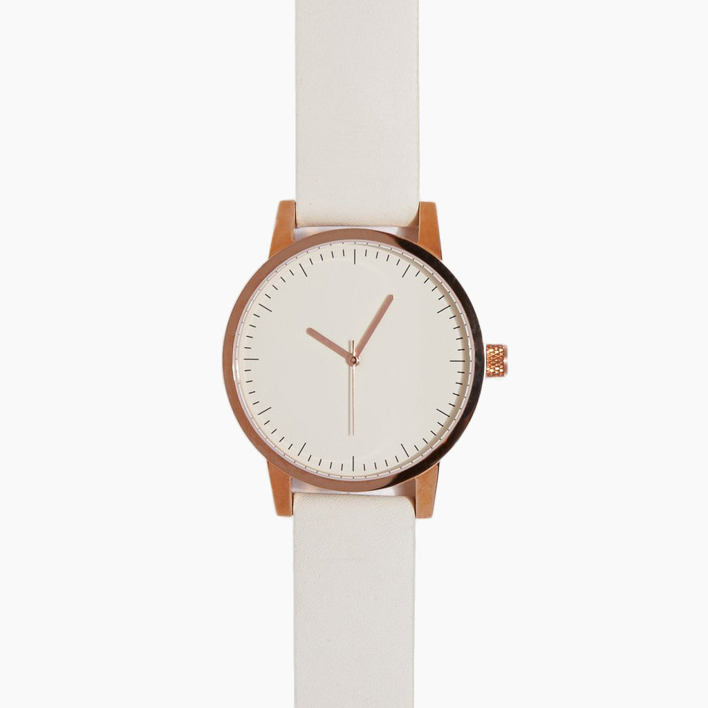 Kent Watch 38Mm - Gold/White