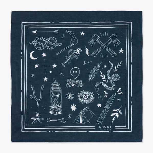 Bush Bandana - Midnight Bush Craft
