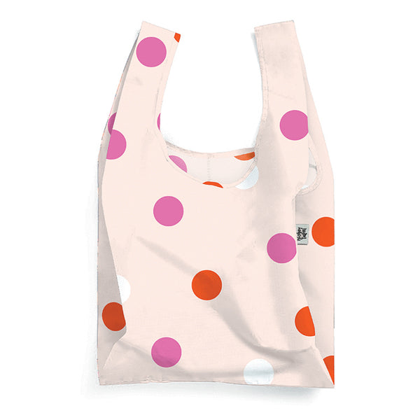 Polka Face Reusable Shopping Bag