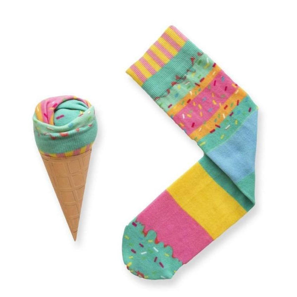 Ice Cream Socks - Rainbow