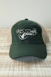 MS Delta Ducks Platinum Series Hats
