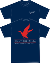 MS Delta Ducks Flying Duck Short Sleeve t-shirt