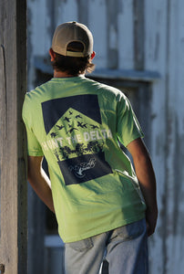 MS Delta Ducks Hunt the Delta Series Short Sleeve t-shirt