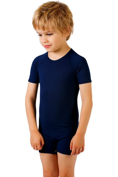 JettProof Sensory Short Sleeve Suit | Boys-2-Navy-JettProof.com