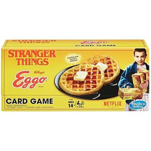 Stranger Things Eggo Card Game - GogoBricks