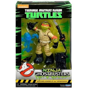 Teenage Mutant Ninja Turtles Ninja Ghostbusters set of 4