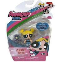 Powerpuff Girl Trio Bundle - Green, Pink & Blue Mini Action Figure (Includes stand & pet) - GogoBricks
