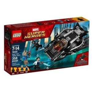 LEGO Super Heroes Marvel Black Panther Royal Talon Fighter Attack 76100 - GogoBricks