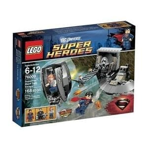 LEGO Superheroes 76009 Superman Black Zero Escape - GogoBricks