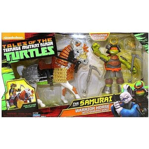 The Samurai Warrior Horse with Samurai Mikey Tales of the Teenage Mutant Ninja Turtles Action Figure 4.5