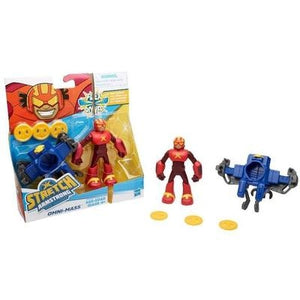 Stretch Armstrong and Flex Fighters Omni-Mass - GogoBricks