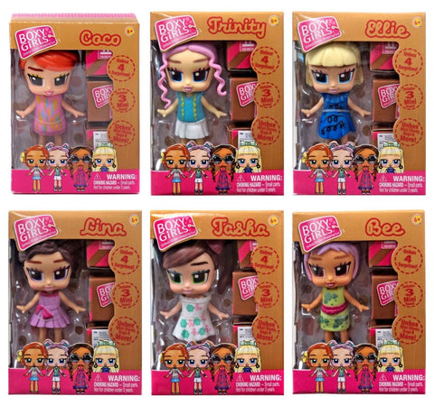 Boxy Mini Girls 6 Pack Bundle - GogoBricks