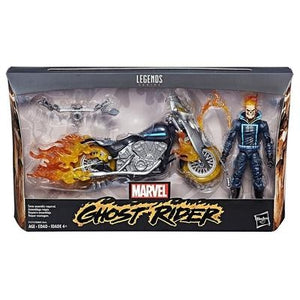 "Marvel Avengers Legends Series 6"" Ghost Rider with Flame Cycle - GogoBricks"