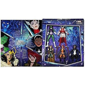 Marvel Legends A-Force Heroines Exclusive Action Figure 6-Pack TRU exclusive ToysRUs