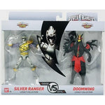 Power Rangers BANDAI Legacy Collection (SILVER RANGER VS DOOMWING)