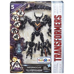 Transformers the Last Knight Infernocus Combiner Exclusive Toysrus TRU