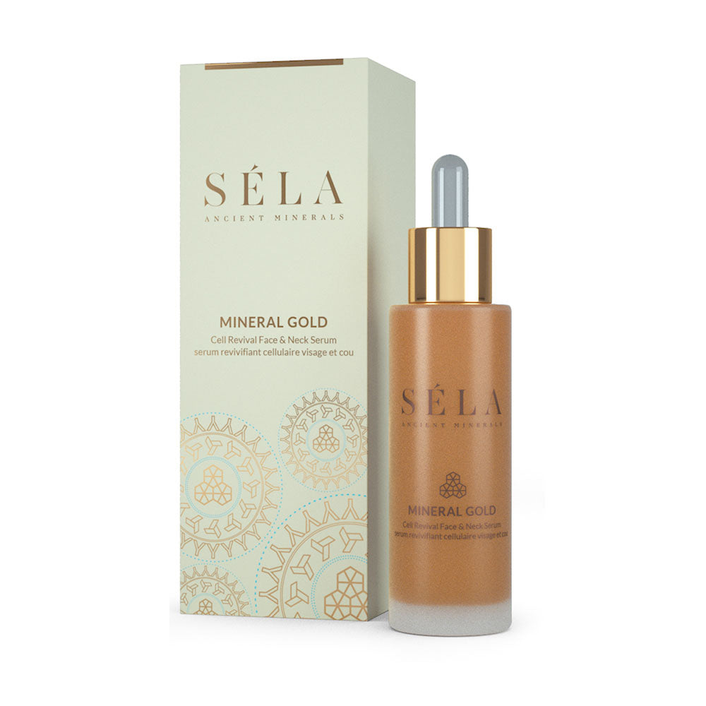 MINERAL GOLD CELL REVIVAL FACE & NECK SERUM