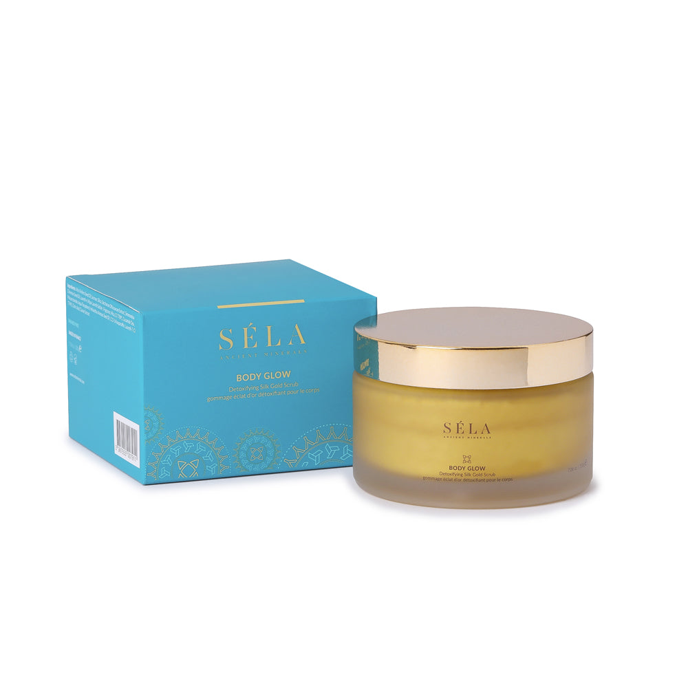 BODY GLOW DETOXIFYING SILK GOLD SCRUB