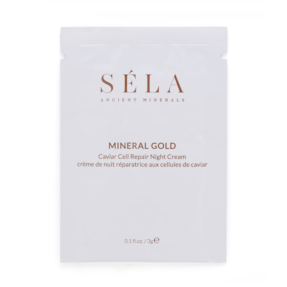 MINERAL GOLD CAVIAR CELL REPAIR NIGHT CREAM SAMPLE (3g)