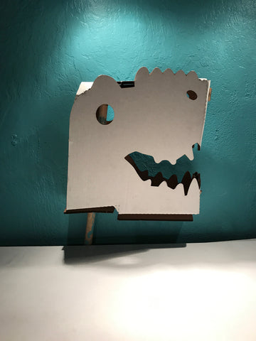 Stick T-rex Head