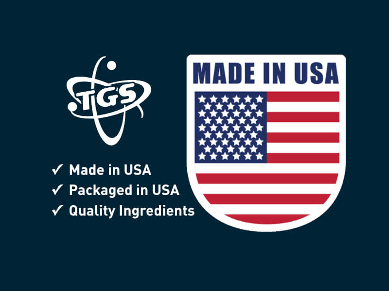 TGS - Quality at is finest - Supplements are Made and Packaged in USA