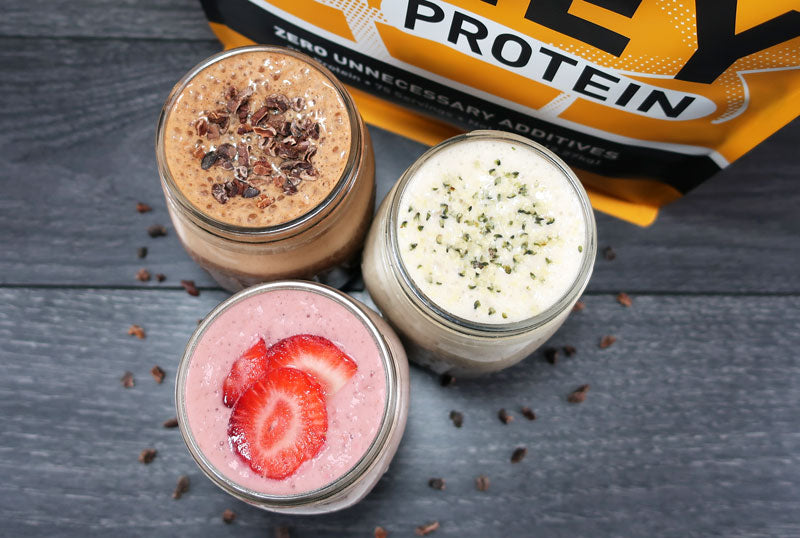 TGS Unflavored, flavorless whey protein powder for endless custom flavors
