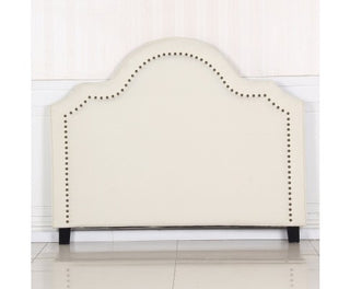 Anne Collection Bed Head Headboard - Beige