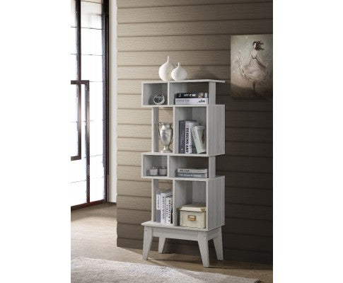 Display Shelf Cabinet - White Oak