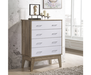 Tallboy Chest of Drawers - Oak