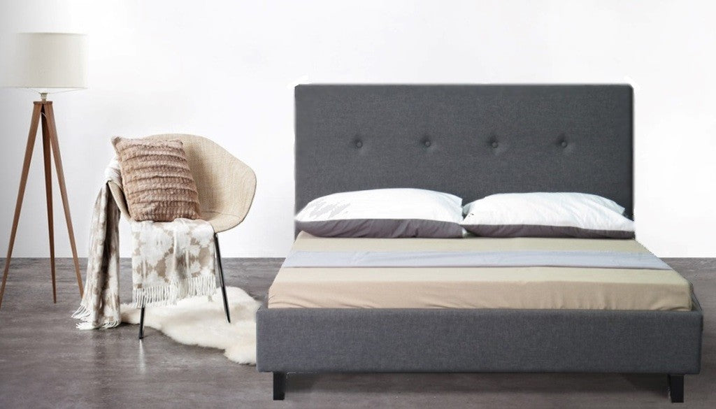 Lennon Collection Bed Frame - Grey