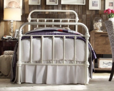 Monte Carlo Collection Bed Frame - White