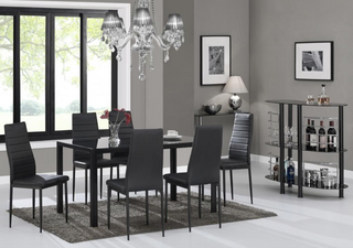 7 Piece Extendable Dining Table Set
