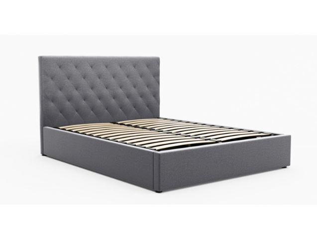 Brooklyn Gas Lift Collection Bed Frame - Grey