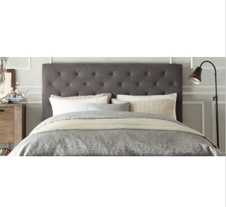 Brooklyn Collection Bed Head Headboard - Grey