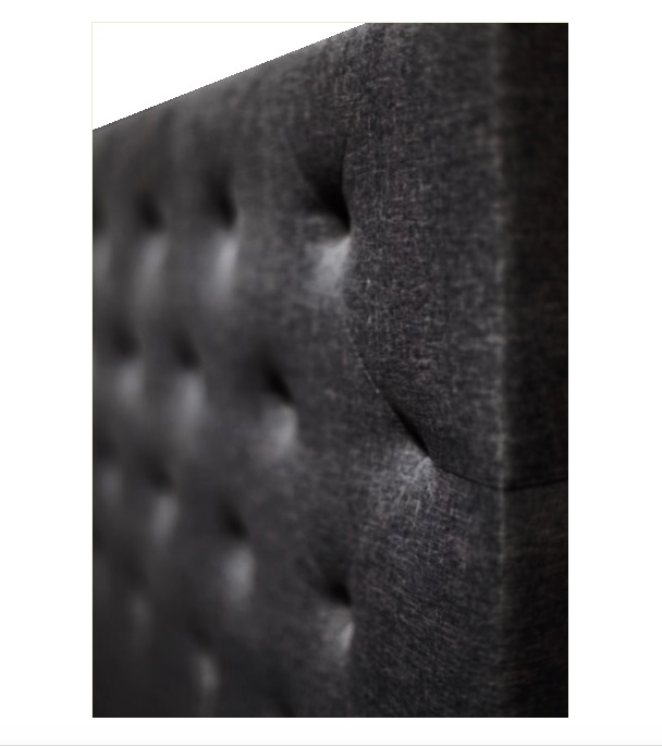 Brooklyn Collection Bed Head Headboard - Charcoal