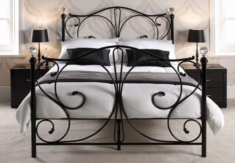 Riviera Collection Bed Frame - Black