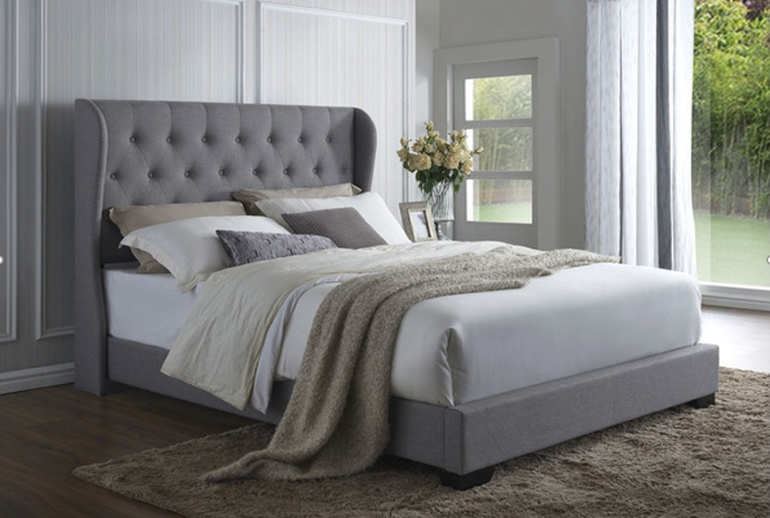 Buckley Collection Bed Frame - Grey
