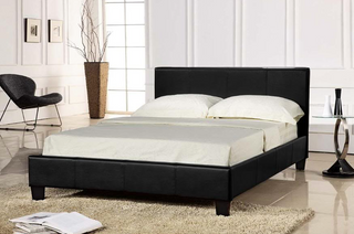 Panda Collection Bed Frame - Black
