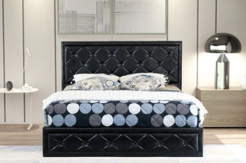 Cornish Gas Lift Collection Bed Frame - Black