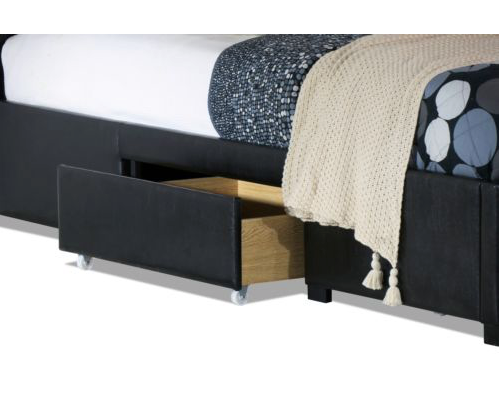Cornish Storage Drawer Collection Bed Frame - Black