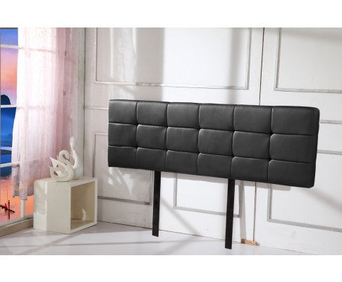 Astoria Collection Bed Head Headboard - Black