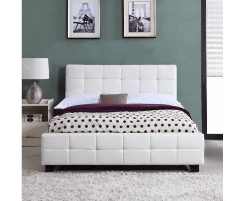 Demi Collection Bed Frame - White