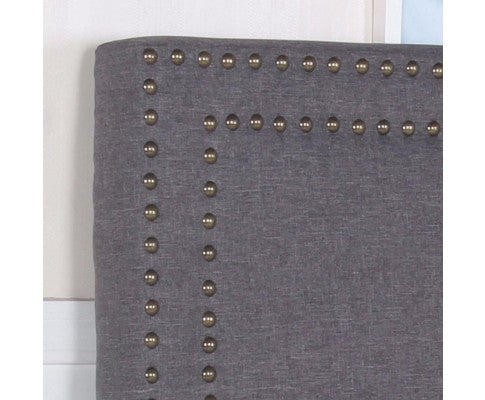 Enzo Collection Bed Head Headboard - Charcoal