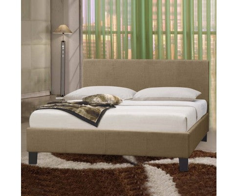 Uptown Collection Bed Frame - Beige