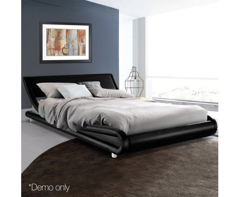 Barcelona Collection Bed Frame - Black