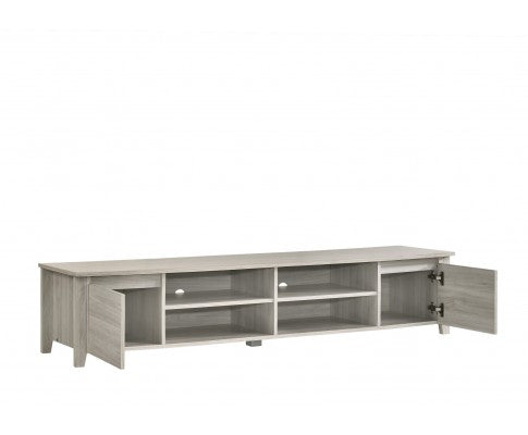 TV Stand Entertainment Unit 180cm - White Oak