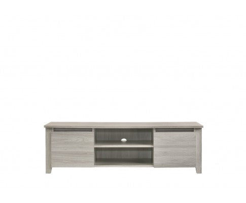 TV Stand Entertainment Unit 120cm - White Oak