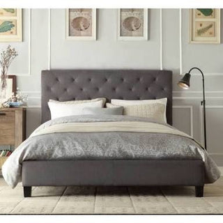 Brooklyn Collection Bed Frame - Grey