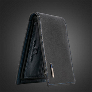 Mens Leather Bluetooth Wallet